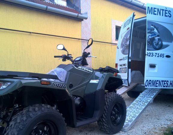 Quad szállítás